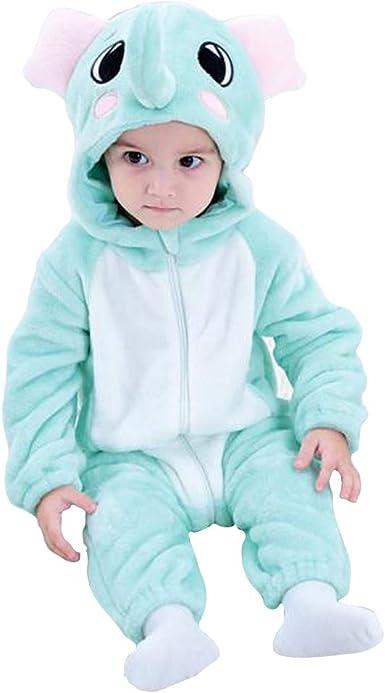 Bebé Invierno Peleles Infantil Mameluco Recién Nacido Monos Niños Abrigo Ropa Una Pieza Pijamas Niñas Trajes Disfraces