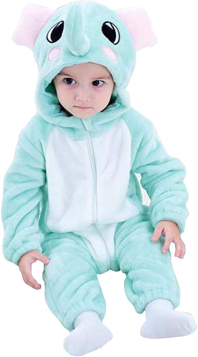 Unicornio bebé niño niñas dibujos animados estilo mamelucos ropa disfraz niños