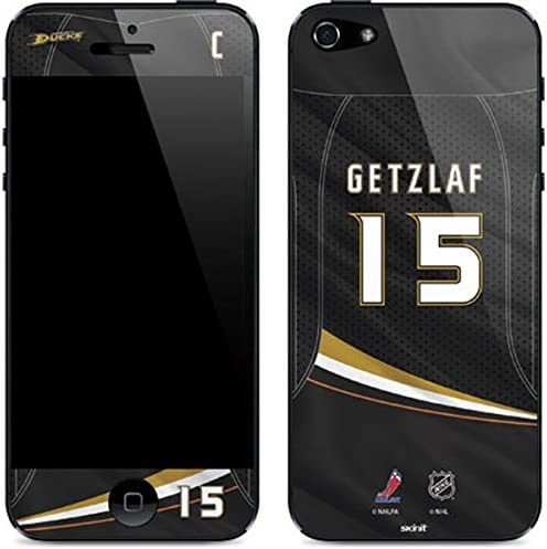Skinit Decal Phone Skin for iPhone 5/5s/SE - Officially Licensed NHL Players Anaheim Ducks #15 Ryan Getzlaf Design 51qOJqoSbhL