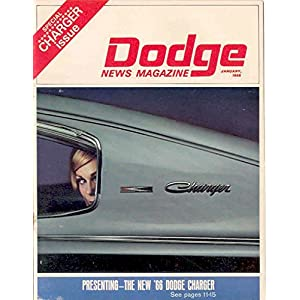1966 Dodge Charger Show Issue January