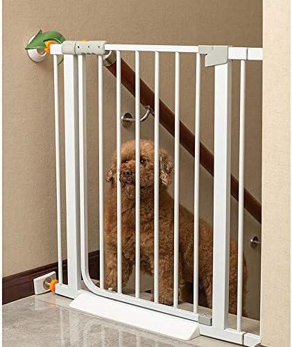 Huo Niños Escalera Barrera de Seguridad Auto Cerrado Retráctil Perro Mascota Barrera Bebé (Size : 82-89cm): Amazon.es: Hogar