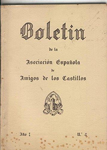 Boletin de la asociacion española de amigos de los castillos numero 04 1954: Amazon.es: Varios: Libros