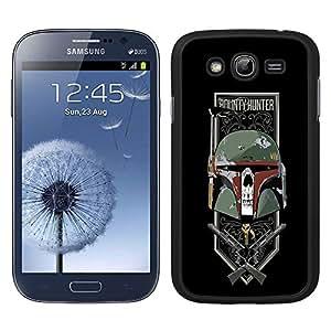 Funda carcasa para Samsung Galaxy Grand diseño Boba fondo negro SW borde negro