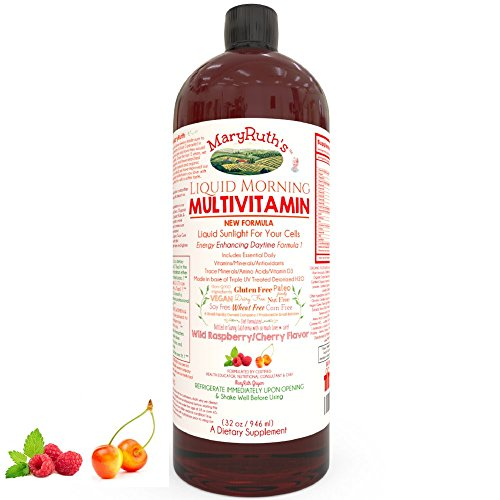 VEGAN LIQUID MORNING MULTIVITAMIN MARYRUTH product image