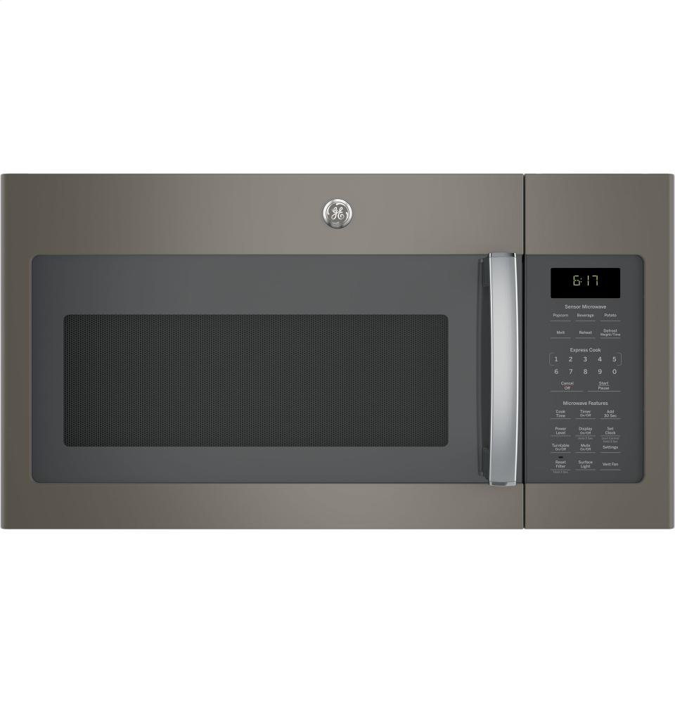 GE JVM6175EKES Over-the- Over-the-Range Microwave Oven, 15.25 X 29.875 X 16.5, Slate