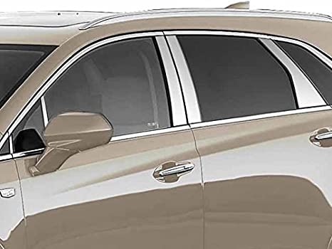XT5 2017 – 2018 Cadillac (10 PC: Pilar de acero inoxidable Post Trim Kit