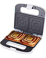 Jata SW219 smörgåsgrill för 2 smörgåsar XXL med non-stick-plattor, PFOA-fri, perfekt förseglad, vertikal, snabb och enhetlig