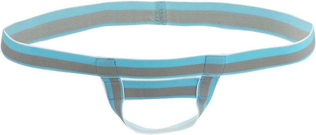 iEFiEL Mens Bare Back Sliding Ring Enhancing Strap Underwear Underpants T-Back