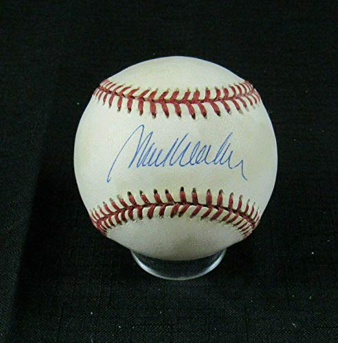 Mark Wohlers Autographed Ball - Rawlings 1995 World Series B120 IV - Autographed Baseballs