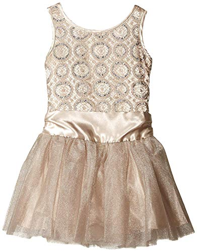 - Biscotti Kate Mack Women's Baby-Girls Luminous Lace Tulle Skirt Dress, Gold, 9 Months (9M)