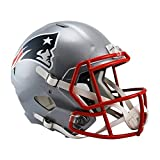 Riddell NFL New England Patriots Full Size Replica Speed Helmet, Medium, Red