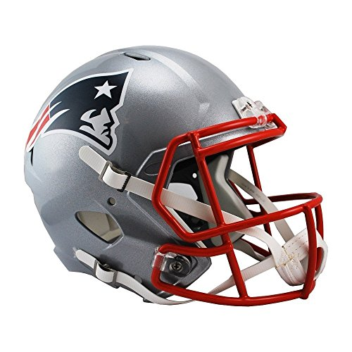 Riddell NFL New England Patriots Full Size Replica Speed Helmet, Medium, Red ()
