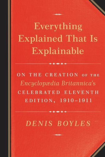 Everything Explained That Is Explainable: On the Creation of the Encyclopaedia Britannica's Celeb…
