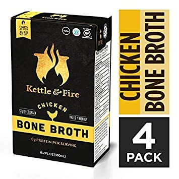 Amazon Chicken Bone Broth Soup By Kettle And Fire Pack Of 4