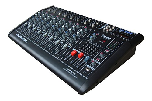 4000 watt powered mixer - 3