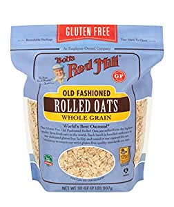 Bobs Red Mill Gluten Free Rolled Oats,907gm (Pack of 1)