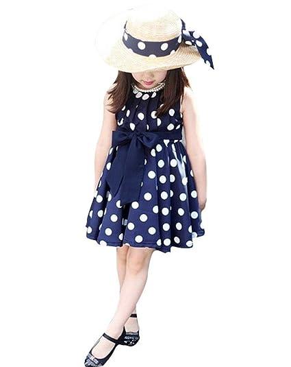 Polp Niña Conjuntosniña Manga Faldacasual Elegante Moda Vestidohonda Chaleco Faldamanga Corta Vestidoniñas Ropa Falda Cortafalda