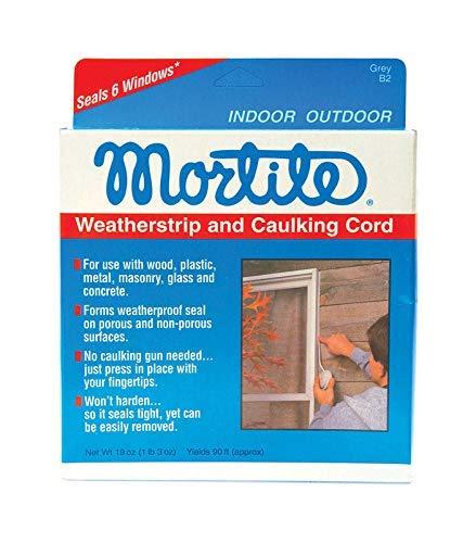 Thermwell Mortite Weatherstrip And Caulking Cord Gray ()