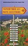 Toponymie des pays occitans par Boyrie-Fénié