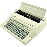 "13"" Portable Electronic Typewriter with LCD Display, Spellcheck, and Memory"