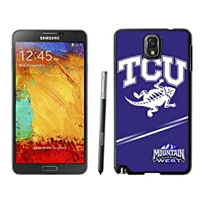 Hot Sale Samsung Galaxy Note 3 Cover Case Big 12 Conference Big12 Football TCU Horned Frogs 7 Protective Cell Phone Hardshell Cover Case For Samsung Galaxy Note 3 N900A N900V N900P N900T Black Unique And Durable Designed Phone Case