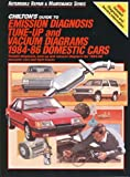 Chilton's Guide to Emission Diagnosis, Tune-up and Vacuum Diagrams 1984-86 (Domestic Cars), Kerry A. Freeman, 0801977568