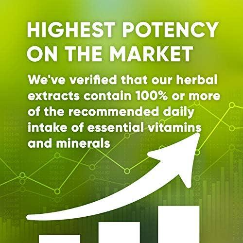 Chamomile 120 Capsules, 800 mg, Organic Chamomile Matricaria Recutita Dried Flower 120 Capsules