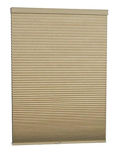 DEZ Furnishings QEKK244640 Cordless Blackout Cellular Shade, 24.5W x 64L Inches, Khaki ()