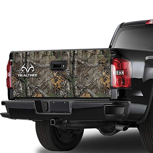 Camowraps (RT-TG-XT-RL) Xtra Tailgate Graphic with Realtree Logo (Camo Truck Decals)