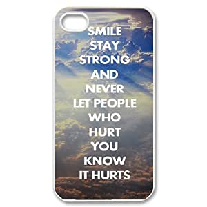 HIJULI (Stay Strong) Fashionable Durable Case for Iphone 4,4S(HJH994627)