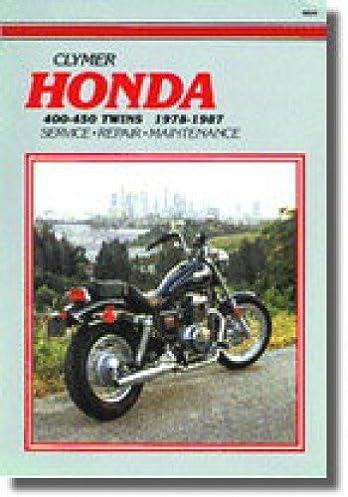 m334 1978 1987 honda cb400 cm400 cb450 cm450 cbx450 motorcycle rh amazon com