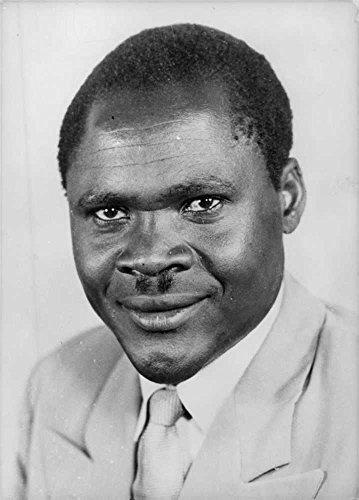 Vintage photo of Portrait of J.S.M. Ochola.
