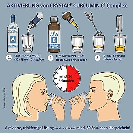 Crystal Curcumin A+B Concept flüssig