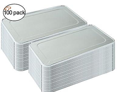 Amazon.com: Tapas de hoja de aluminio TigerChef para ...