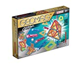 Geomag 68-Piece Glitter Construction Set with Assorted Panels – Mentally Stimulating for Children and Adults – Safe and Construction – For Ages 3 and Up