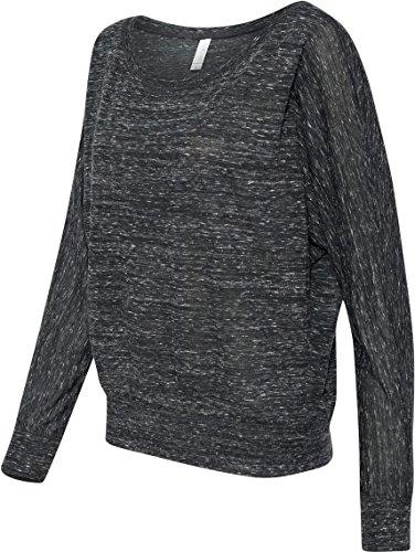 Traje de neopreno para mujer Bella 3,7 G. Long-con cierre de solapa y nivel de interrogatorio para el hombro T-camiseta de manga corta Off schwarz - Black Marble