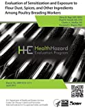Evaluation of Sensitization and Exposure to Flour Dust, Spices, and Other Ingredients among Poultry Breading Workers, Elena Page and Chad Dowell, 1492989908