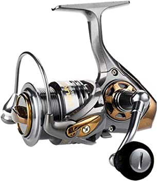 supertop Carrete de Pesca Giratorio 7.1: 1 Carrete de Spinning ...