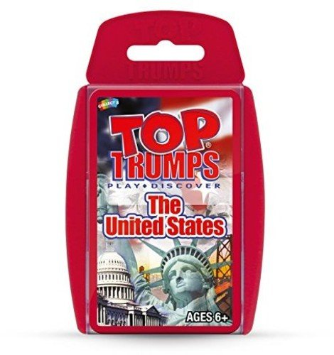 United States Top Trumps Card Game (Trump Flower)