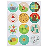 Camp Stationery Paper Set with Stickers and