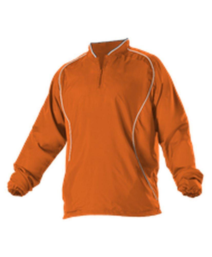 Alleson Youth Multi Sport Travel Jacket Orange, White L 3J13Y 3J13Y-ORWH-L