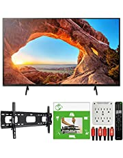 $788 » Sony KD43X85J 43 inch X85J 4K Ultra HD LED Smart TV 2021 Model Bundle with TaskRabbit Installation Services + Deco Gear Wall Mount + HDMI Cables + Surge Adapter