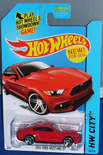 amazoncom 2014 hot wheels hw city 2015 ford mustang gt ships in a box toys games - Rare Hot Wheels Cars 2015