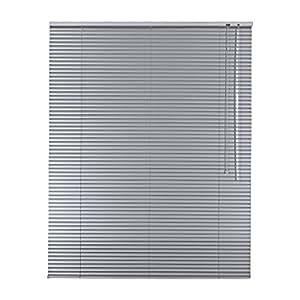 De alta calidad–Estor persiana (aluminio 70x 200cm/70x 200cm en color plata incluye 2unidades Soportes/R22711102Soporte portaequipajes–Persiana (derecha//Medida/ventanas y persiana (/Easy & Fix montado