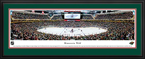 fan products of Minnesota Wild - Center Ice - Blakeway Panoramas NHL Posters with Deluxe Frame