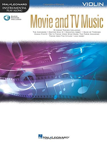 Movie and TV Music for Violin: Instrumental Play-Along  Series (Hal-Leonard Instrumental Play-Along)