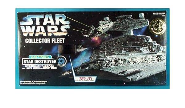 Star Wars Collector Fleet Electronic Star Destroyer by Kenner: Amazon.es: Juguetes y juegos