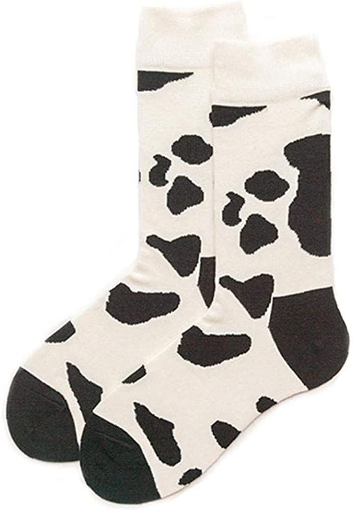 Unisex Algodón Calcetines Impresión De La Vaca Medias para Mujer Hombre: Amazon.es: Ropa y accesorios