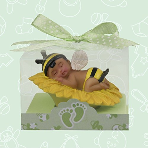 Ethnic Baby Shower Baby Boy Bumble Bee Favor or Cake Topper or Centerpiece