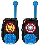 Lexibook - TW25AV-Avengers 3D talkie-walkies Bleu